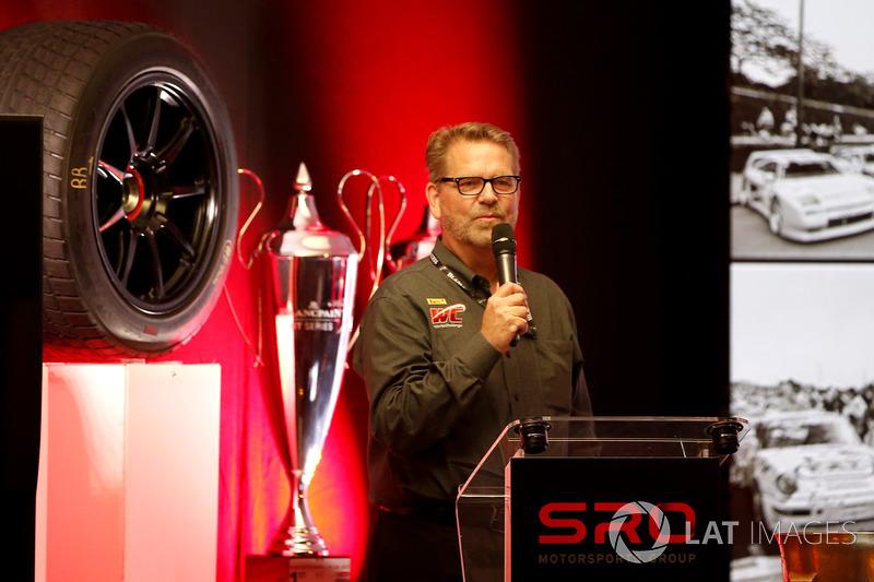 Greg Gill, CEO Pirelli World Challenge
