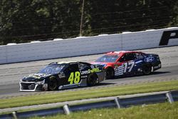 Jimmie Johnson, Hendrick Motorsports, Chevrolet Camaro Lowe's for Pros and Ricky Stenhouse Jr., Roush Fenway Racing, Ford Fusion Ford
