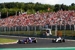 Pierre Gasly, Toro Rosso STR13, voor Sergey Sirotkin, Williams FW41