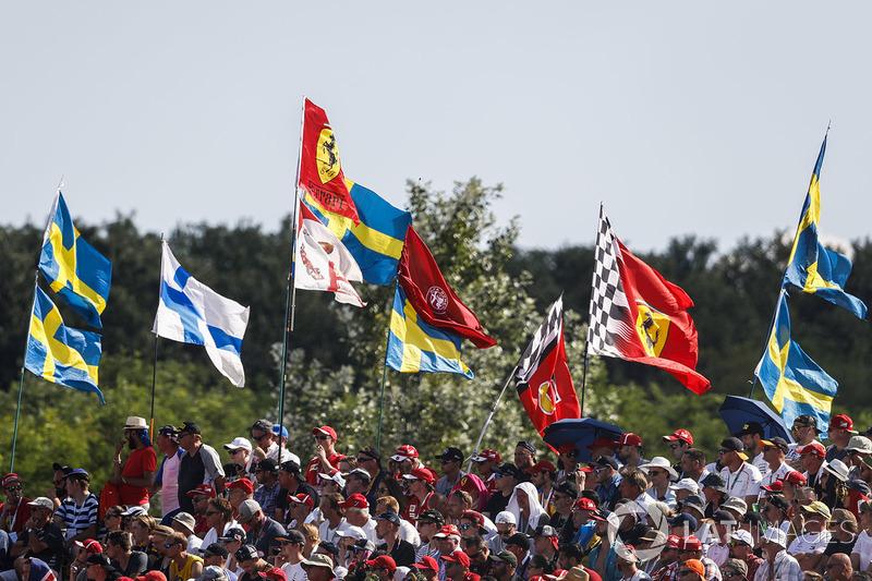 Fan flags