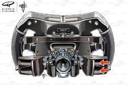 Mercedes AMG F1 W09 Lewis Hamilton steering wheel