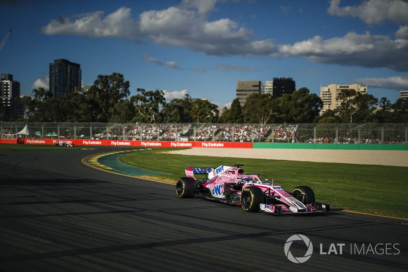 Fin de los puntos consecutivos, GP de Australia 2018