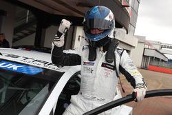 Race 1 winner Dan Lloyd, West Coast Racing VW Golf