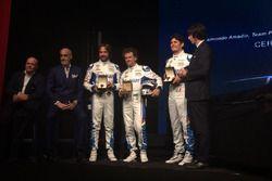 I piloti Villorba Corse 2018: Roberto Lacorte, Giorgio Sernagiotto e Andrea Belicchi