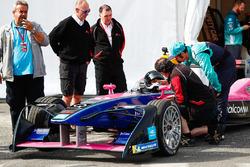 Giancarlo Fisichella, en el Fórmula E