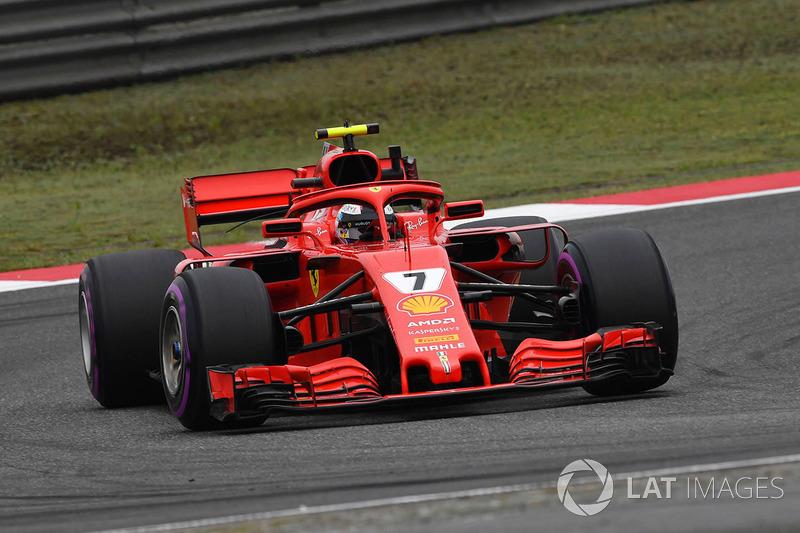 2. Kimi Raikkonen, Ferrari SF71H