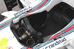 Williams FW40 detalle de volante