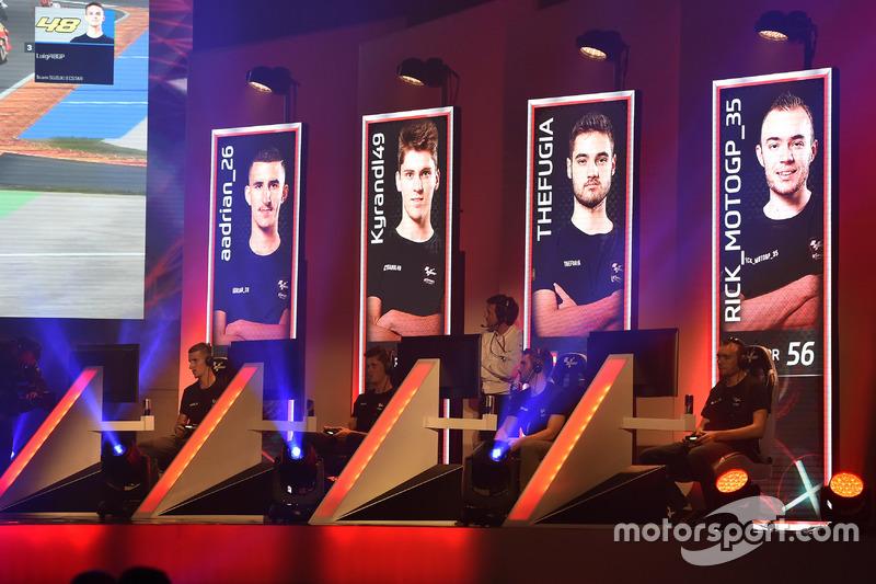 Aspectos del MotoGP eSport Gran Final