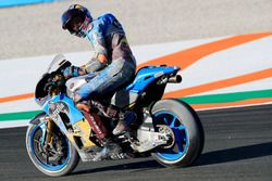Jack Miller, Estrella Galicia 0,0 Marc VDS, after the crash