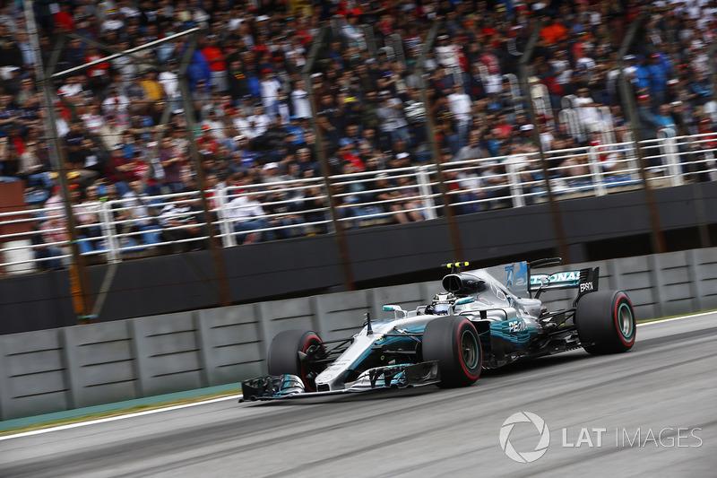 2. Valtteri Bottas, Mercedes AMG F1 W08