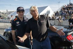 Max Verstappen, Red Bull Racing with Jay Leno