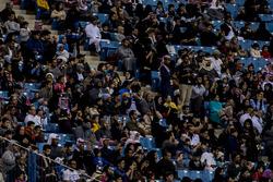 Fans enjoy the atmosphere