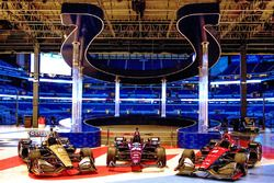 Schmidt Peterson Motorsports livery unveil inside Lucas Oil Stadium