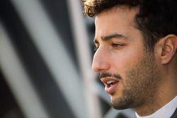 Daniel Ricciardo, Red Bull Racing im Gespräch mit der Presse