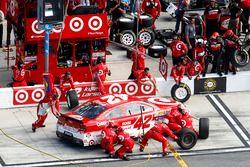 Pit stop Kyle Larson, Chip Ganassi Racing Chevrolet