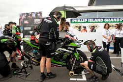 Tom Sykes, Kawasaki Racing Team op de grid