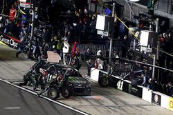 Boxenstopp Kurt Busch, Stewart-Haas Racing Chevrolet