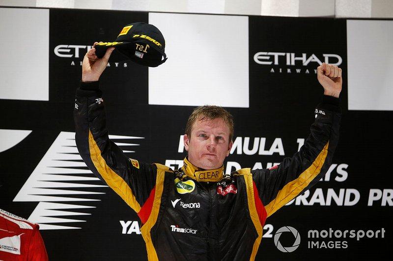 #10 Kimi raikkonen (3 victorias en la década)