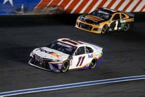 Denny Hamlin, Joe Gibbs Racing, Toyota Camry FedEx Ground Kurt Busch, Chip Ganassi Racing, Chevrolet Camaro GEARWRENCH