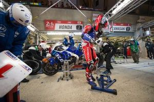 #1 Honda: Josh Hook, Freddy Foray, Mike di Meglio, Alan Techer
