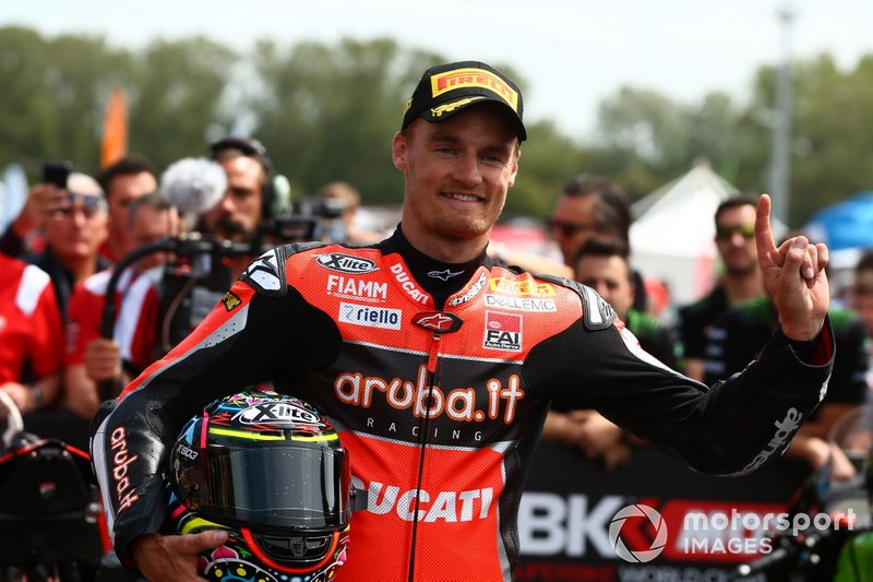 Chaz Davies, Aruba.it Racing-Ducati Team conquista la pole
