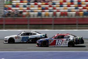 Jeffrey Earnhardt, Joe Gibbs Racing, Toyota Supra iK9 Cole Custer, Stewart-Haas Racing, Ford Mustang Thompson Pipe Group