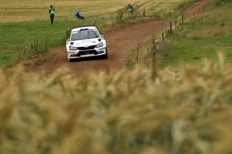 Chris Ingram, Ross Whittock, Skoda Fabia R5, FIA ERC, Rally Poland