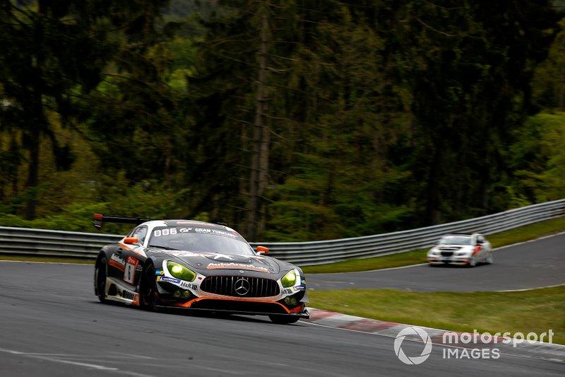 #6 Mercedes AMG Team Black Falcon Mercedes AMG GT3: Patrick Assenheimer, Nico Bastian Stuttgart, Yelmer Buurman