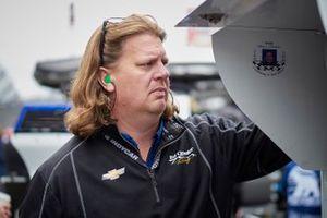 L'équipe d'Ed Jones, Ed Carpenter Racing Chevrolet