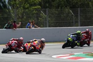 Jorge Lorenzo, Repsol Honda Team, crash