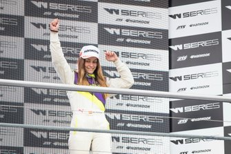 Marta Garcia sur le podium