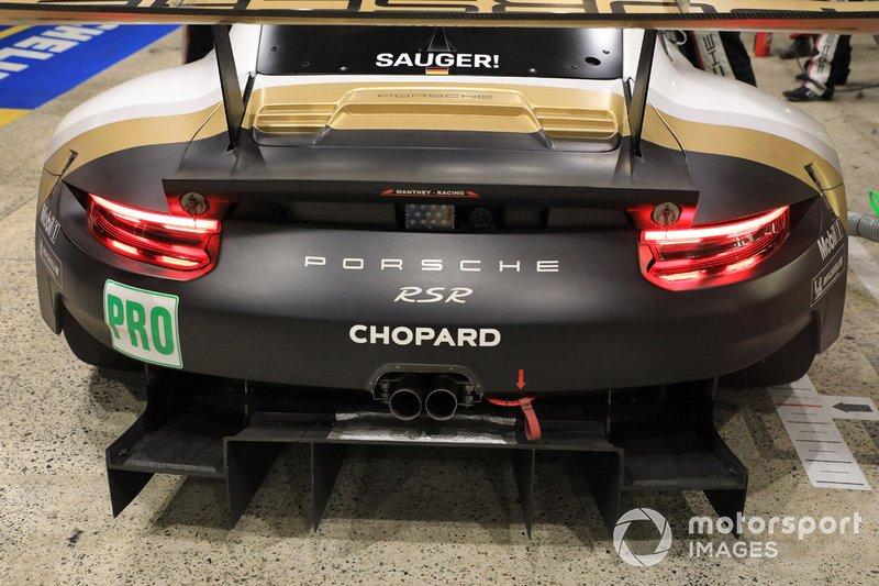 Difusor del Porsche GT Team Porsche 911 RSR