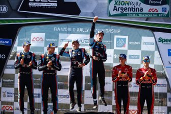 Rally Winners Thierry Neuville, Nicolas Gilsoul, Hyundai Motorsport Hyundai i20 Coupe WRC