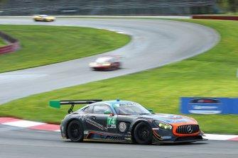 #74 Lone Star Racing Mercedes-AMG, GTD: Gar Robinson, Lawson Aschenbach