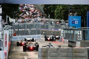 Andre Lotterer, DS TECHEETAH, DS E-Tense FE19 Alex Lynn (GBR), Panasonic Jaguar Racing, Jaguar I-Type 3, Felipe Massa, Venturi Formula E, Venturi VFE05