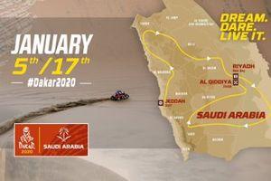 Route: Rallye Dakar 2020 in Saudi-Arabien