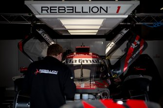#1 Rebellion Racing Rebellion R-13: Andre? Lotterer, Neel Jani, Bruno Senna
