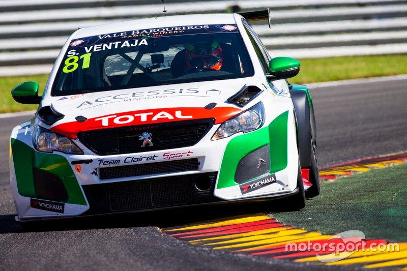 Stéphane Ventaja, Team Clairet Sport Peugeot 308 TCR