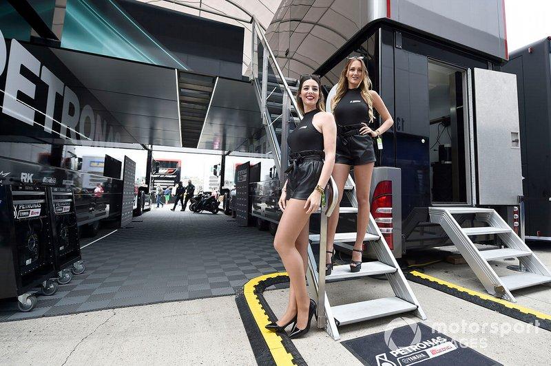 Edecanes de MotoGP