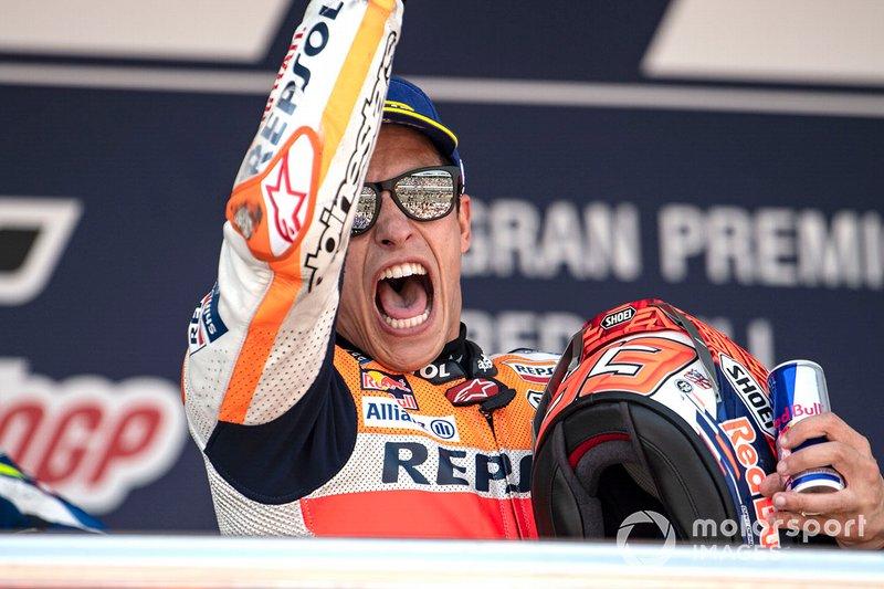 Podio: ganador, Marc Marquez, Repsol Honda Team