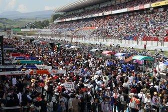 2日間合計で9万1800人が来場した富士スピードウェイ