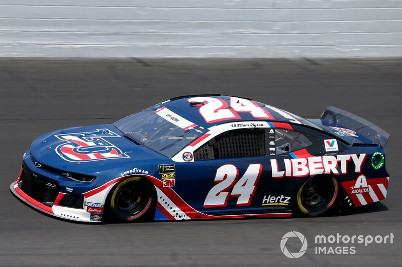 9. William Byron, Hendrick Motorsports, Chevrolet Camaro