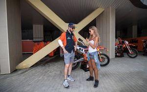 Jeffrey Herlings, Red Bull KTM Factory Racing con Lisa Leyland