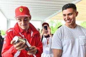 Charles Leclerc, Ferrari Shell House