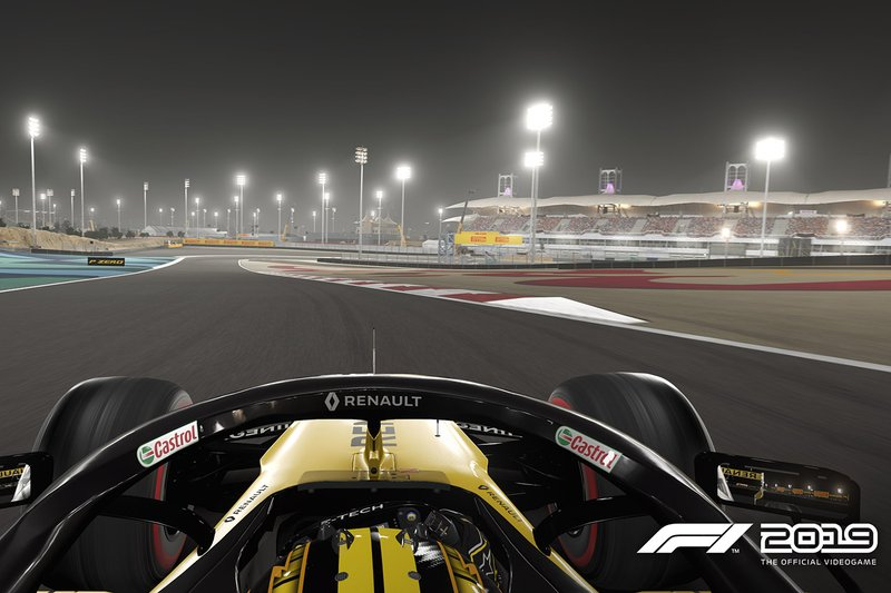 Captura de pantalla F1 2019 Codemasters