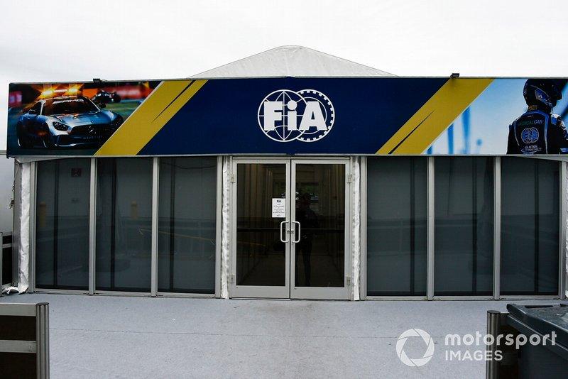 El hospitality de la FIA