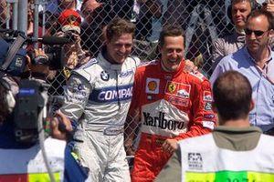 Ralf Schumacher, Williams e Michael Schumacher, Ferrari