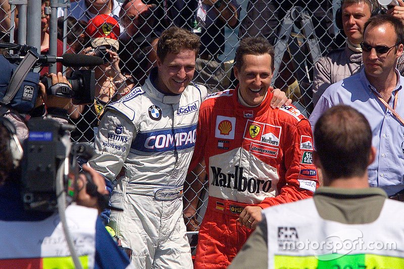 Ralf Schumacher, Williams ve Michael Schumacher, Ferrari