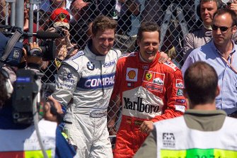 Ralf Schumacher, Williams and Michael Schumacher, Ferrari
