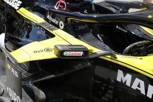 Renault F1 Team R.S.19, dettaglio dello specchietto